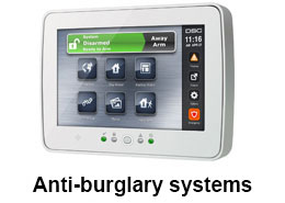Anti-burglary-systems